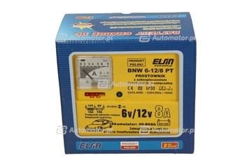 PROSTOWNIK ELSIN  6V-12V/  8A BNW 6-12/8 TP /AKUMULATORY 40-80AH/ [3004-259-002]