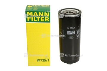 Filtr oleju MANN-FILTER W 735/1