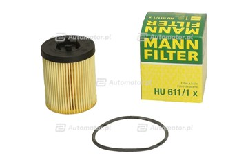 Filtr oleju MANN-FILTER HU 611/1 X