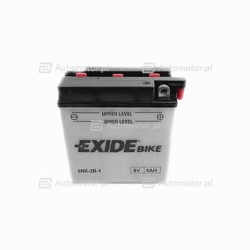Akumulator rozruchowy EXIDE 6N6-3B-1