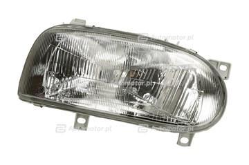 REFLEKTOR VW GOLF III 92-97 PRAWY MANUALNY/ELEKTRYCZNY H4 441-1111R-LD-E