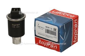 Przełącznik ciśnieniowy, klimatyzacja TOPRAN 108 661