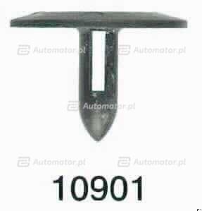 ROMIX 10901 SPINKA TAPICERKI BAGAŻNIKA I WYCISZENIA POKRYWY SILNIKA AUDI 80-90 (95-98R.)/VW