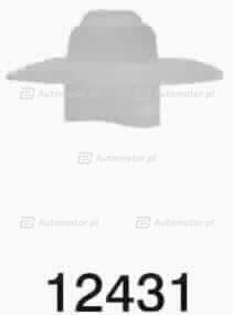 ROMIX 12431 SPINKA LISTWY DRZWI RENAULT CLIO,LAGUNA,R19