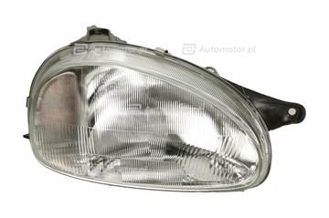 Reflektor świateł przednich TYC 20-3203-85-2