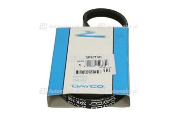 Pasek klinowy wielorowkowy DAYCO 3PK760