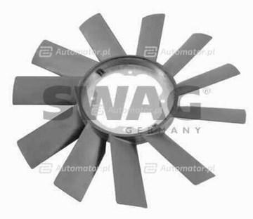 Przełącznik termiczny, wentylator chłodnicy SWAG 20 90 1102