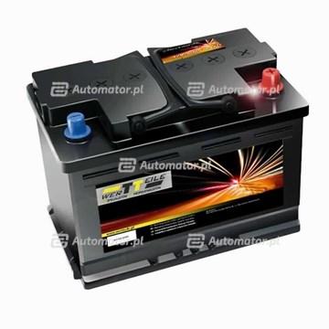 AKUMULATOR WERTTEILE  45AH 400A P+ 207X175X190