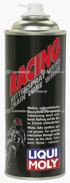 LIQUI MOLY 1591 RACING KETTEN SPRAY WEISS BIAŁY SMAR DO ŁAŃCUCHA 400ML