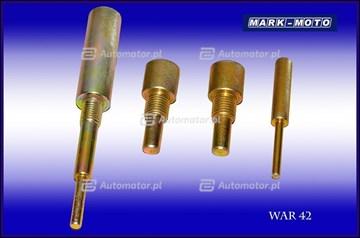 Zestaw narzędzi ustalających, wałek rozrządu WAR WAR42