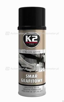 SMAR GRAFITOWY 400ML K2 W130