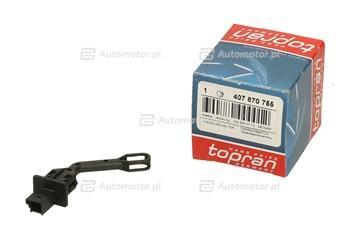 Włącznik temperaturowy, wentylator klimatyzacji TOPRAN 407 870