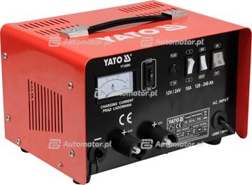 YATO YT-8304 PROSTOWNIK 12/24V 16A WSPOM.ROZRUCH 20A