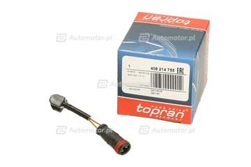 Czujnik klocków hamulcowych TOPRAN 408 214
