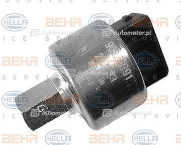 Przełącznik ciśnieniowy, klimatyzacja MAHLE/HELLA 6ZL 351 028-021
