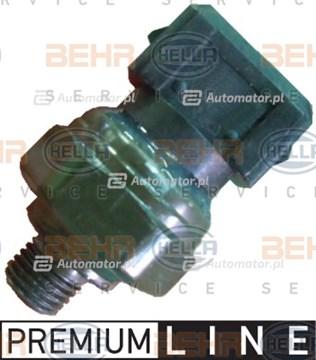 Przełącznik ciśnieniowy, klimatyzacja MAHLE/HELLA 6ZL 351 028-351