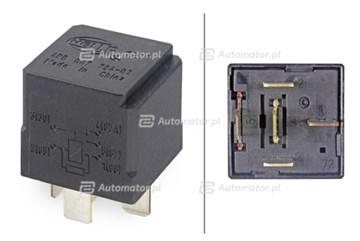 Przekaźnik, sterowanie rozruchem zimnego silnika HELLA 4RD 007 794-021