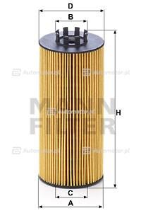 Filtr oleju MANN-FILTER HU 9003 Z