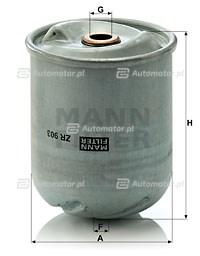 Filtr oleju MANN-FILTER ZR 903 X
