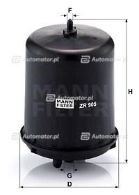 Filtr oleju MANN-FILTER ZR 905 Z