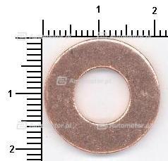 Pierścień uszczelniający, korek spustowy oleju ELRING 108.502