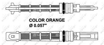 Zawór rozprężny klimatyzacji NRF 38449