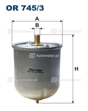Filtr oleju FILTRON-CIĘŻARÓWKI OR 745/3