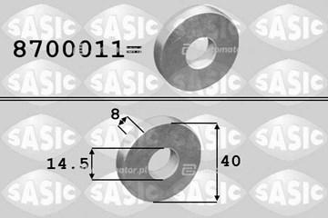 Podkładka, koło pasowe - wał korbowy SASIC 8700011