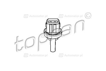 Włącznik temperaturowy, wentylator klimatyzacji TOPRAN 111 037