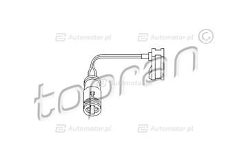 Czujnik klocków hamulcowych TOPRAN 112 102