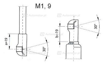 Sprężyna gazowa pokrywy bagażnika FA KROSNO 23072