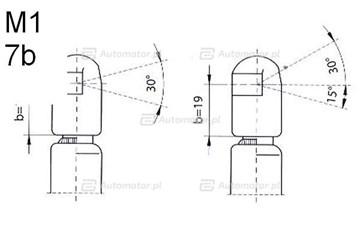 Sprężyna gazowa pokrywy bagażnika FA KROSNO 23104