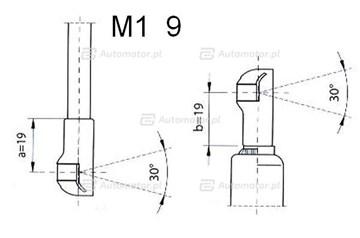 Sprężyna gazowa pokrywy silnika FA KROSNO 23236