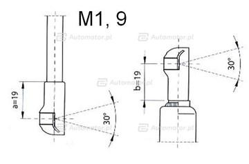 Sprężyna gazowa pokrywy silnika FA KROSNO 23360