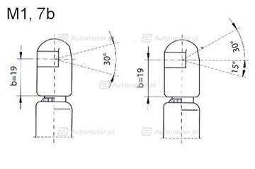 Sprężyna gazowa pokrywy bagażnika FA KROSNO 23434