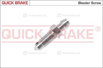 Śruba / zawór odpowietrznika, zacisk hamulcowy QUICK BRAKE 0015