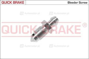 Śruba / zawór odpowietrznika, zacisk hamulcowy QUICK BRAKE 0039