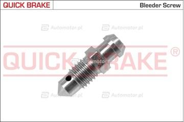 Śruba / zawór odpowietrznika, zacisk hamulcowy QUICK BRAKE 0053