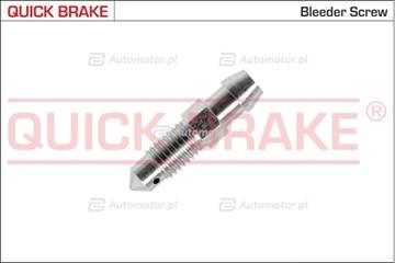 Śruba / zawór odpowietrznika, zacisk hamulcowy QUICK BRAKE 0069