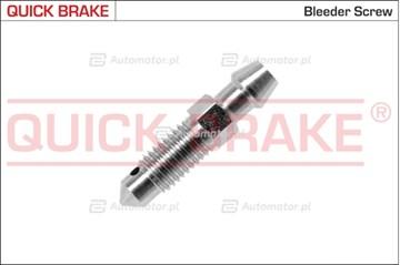 Śruba / zawór odpowietrznika, zacisk hamulcowy QUICK BRAKE 0086