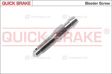 Śruba / zawór odpowietrznika, zacisk hamulcowy QUICK BRAKE 0087