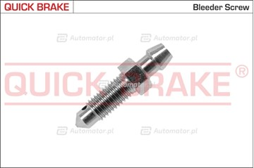 Śruba / zawór odpowietrznika, zacisk hamulcowy QUICK BRAKE 0088