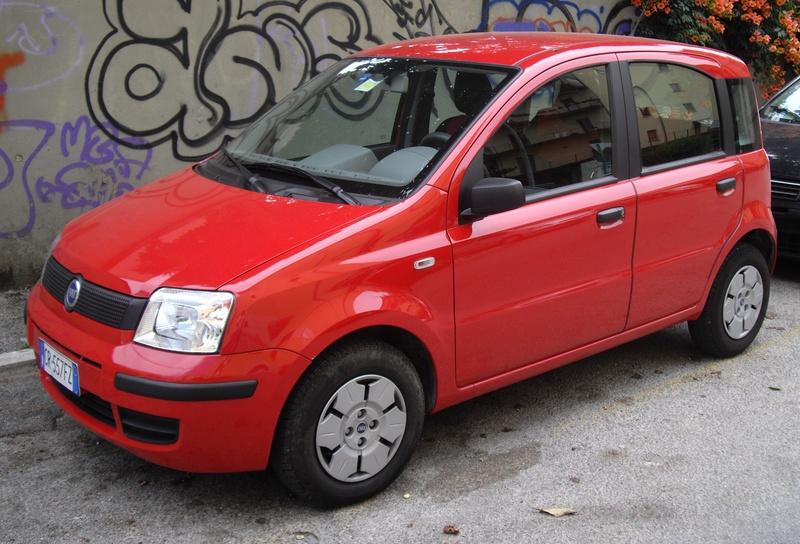 Fiat Panda jako pierwszy samochód