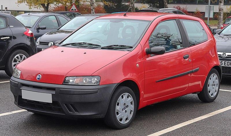 Fiat Punto dla młodego kierowcy