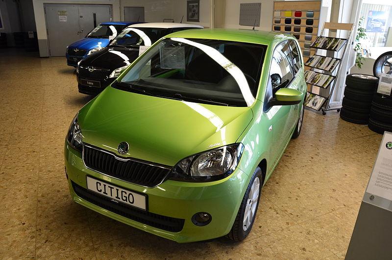 Skoda Citigo - wygodny samochód dla nastolatka