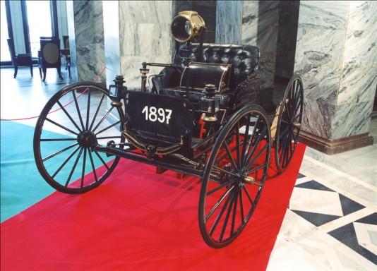 Muzea motoryzacji - J.A.G. 1897