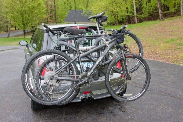 Bagażnik rowerowy tylni