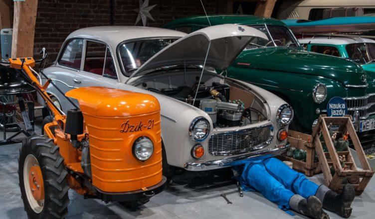 Muzeum motoryzacji w Topaczu