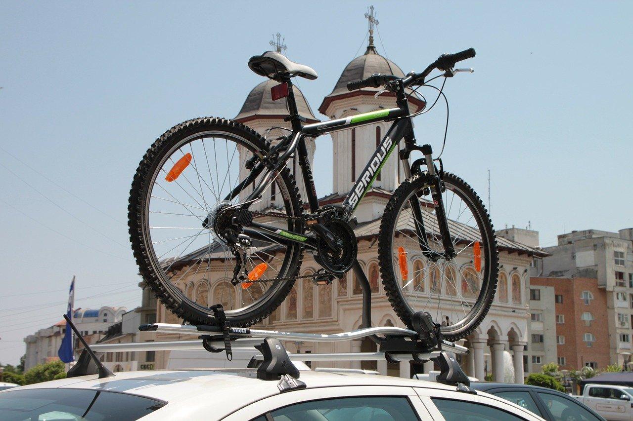 bagażnik rowerowy dachowy