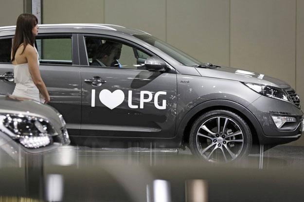 Fabrycznie zamontowana instalacja LPG w samochodzie